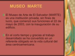 MUSEO MARTE - estrategias de lateralidad |