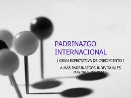 PADRINAZGO INTERNACIONAL
