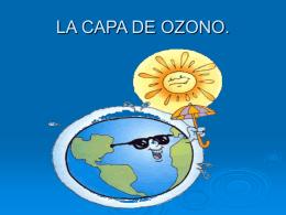 LA CAPA DE OZONO - Ciencias de la tierra y del