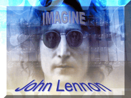 IMAGINE_Lennon - Welcome to All