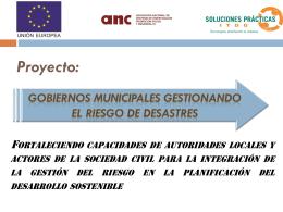 FORTALECIMIENTO DE CAPACIDADES DE AUTORIDADES