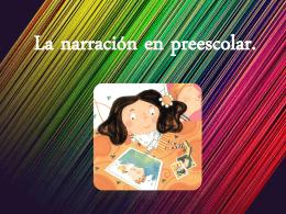 La narración en preescolar.