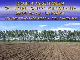 ESCUELA AGROTÉCNICA CENTRO EDUCATIVO POLIVALENTE