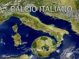 CALCIO ITALIANO - Cultura