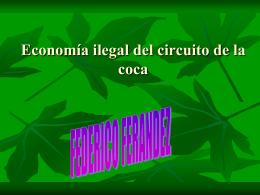 Economía ilegal del circuito del coca