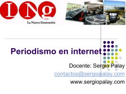 Periodismo en internet - Internet, Deporte y