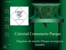 Celestial Cementerio Parque