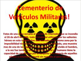 Cementerio de Vehículos Militares!