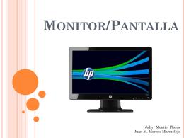 Monitor/Pantalla