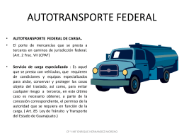 AUTOTRANSPORTE FEDERAL