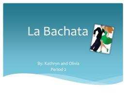 La Bachata - Rodgers - clases de Español