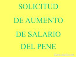 Solicitud del Pene.