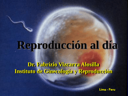 Diapositiva 1 - Ginecología y Reproducción