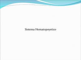 Sistema hematopoyético ( Motivos de consulta)
