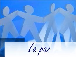 La paz - El portal de la educación