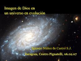 Imagen de Dios en una universo en evolución -