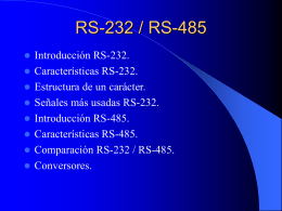 RS-232 Y RS-485