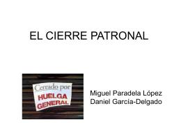 EL CIERRE PATRONAL