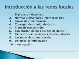 Introducción: 2 1. El proceso telemático: 2 A.
