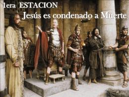 1era Estacion - Jesus es condenado