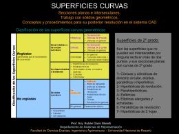 SUPERFICIES CÓNICAS Y CILÍNDRICAS. DESARROLLOS.
