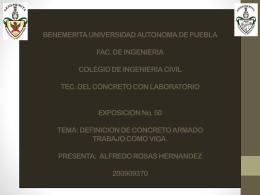 BENEMERITA UNIVERSIDAD AUTONOMA DE PUEBLA FAC. DE