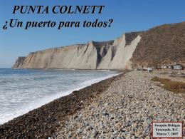 PUNTA COLNETT ¿Un puerto para todos?