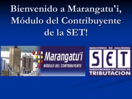 MARANGATU'I Modulo del Contribuyente