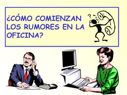 Rumores de Oficina