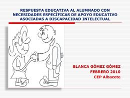 MATERIALES RESPUESTA EDUCATIVA AL ALUMNADO CON