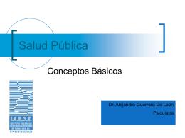 Salud Publica - Tele Medicina de Tampico