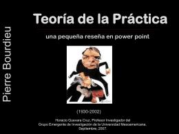 Pierre Bourdieu - Grupo Emergente de