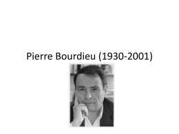 Pierre Bourdieu (1930
