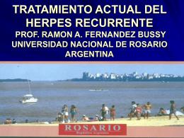 TRATAMIENTO DEL HERPES RECURRENTE