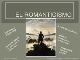 EL ROMANTICISMO - Apuntes de Lengua y Literatura