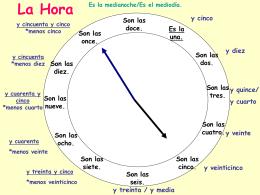 La Hora - Norwell Public Schools / Overview