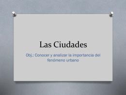 Las Ciudades