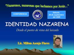 Diapositiva 1 - Iglesia del Nazareno