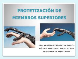 ProteTizacion de miembro superior