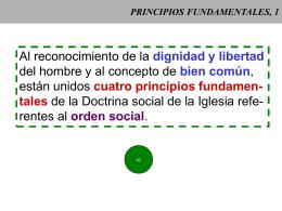PRINCIPIOS FUNDAMENTALES, 1
