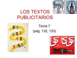 LOS TEXTOS PUBLICITARIOS - lenguayliteraturasoto -