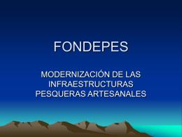 FONDEPES - Ministerio de la Producción