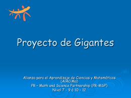 Proyecto de Gigantes