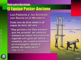 Guía para Ancianos El Equipo Pastor
