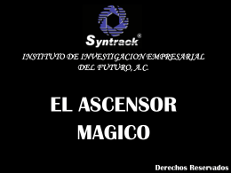 Ascensor mágico
