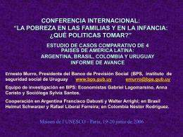 ESTUDIO DE CASOS SOBRE ASIGNACIONES FAMILIARES EN