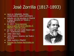 José Zorrilla (1817