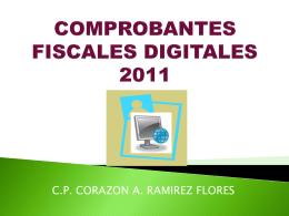 COMPROBANTES FISCALES DIGITALES 2011