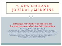 Estrategias con diureticos en pacientes con