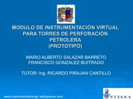 PETRÓLEO - InstrumentacionGZ